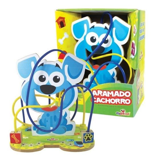 Brinquedo Educativo Aramado Cachorro