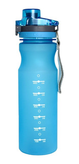 Garrafa Squeeze De Plástico Para Água Super Resistente