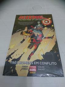 Deadpool: Três Homens Em Conflito - Lacrado!