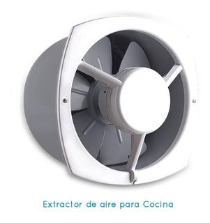 Extractor De Cocina Ecoclima 30 X 30 Cm Para Pared 30 Cm