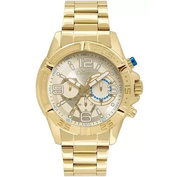 Relógio Masculino Condor Covd54au/4d - Dourado