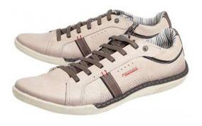 Sapatênis Pegada 14011-01 - Bege - Delabela Calçados