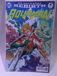 Aquaman Rebirth Vol.4 Dc Comic´s Televisa 2017