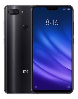 Celular Xiaomi Mi 8 Lite 64gb 4gb Ram Black(capa Brinde)