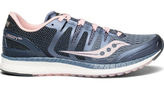 Zapatillas Saucony Liberty Iso Running Mujer Palermo Tenis