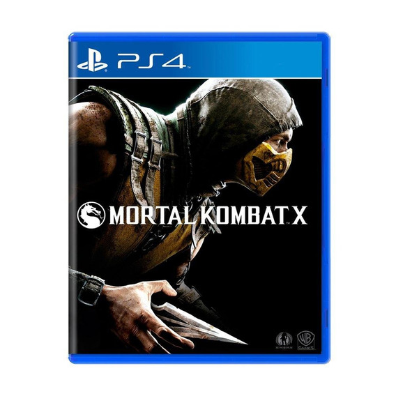 Mortal Kombat X Ps4 Mídia Física Pronta Entrega