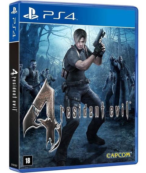 Jogo Resident Evil 4 Ps4 Midia Fisica Cd Original Lacrado