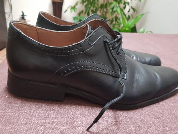 Zapatos De Vestir Batistella De Cuero