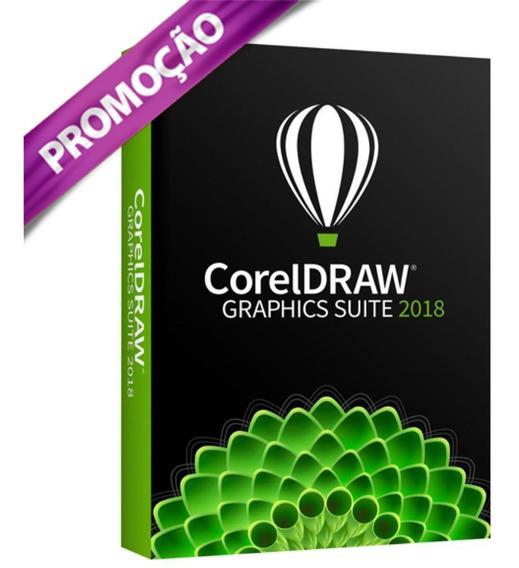 Coreldraw Graphics Suite 2018 - Licença Original Com Nf
