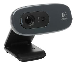 Web Cam Logitech C270 720p Hd Microfono Skype Msn Fotos 3mpx