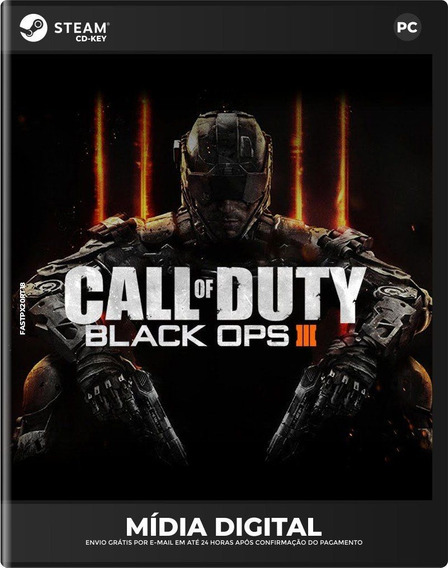 Call Of Duty: Black Ops 3 Iii Steam Chave Original Pc