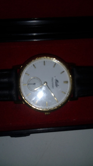 Relógio Mido Original Foleado A Ouro.