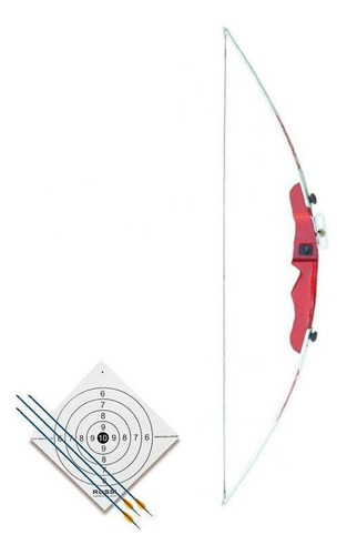 Arco Balanceado Tupy 14lbs Nautika  + Flechas E Alvo Rossi