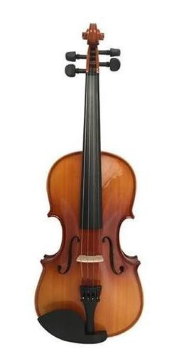 Violin Kinglos Pjb-1002 4/4 - Inlcuye Estuche Arco Resina