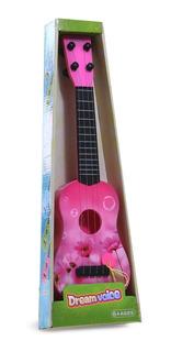 Ukelele Guitarra Infantil De 4 Cuerdas De 43cm Juguete Niño