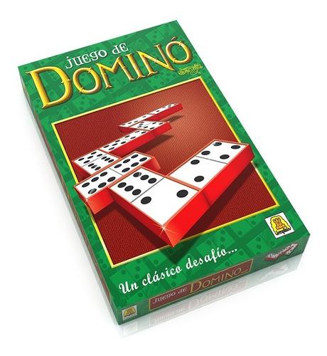 Juego De Mesa Domino Clasico Implas