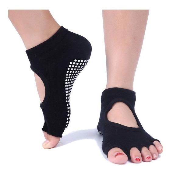 Paquete De 10 Pares Calcetas Antiderrapantes Para Yoga Danza