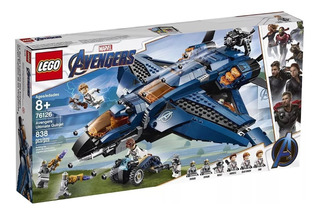 Lego Avengers Ultímate Quinjet Endgame 76126