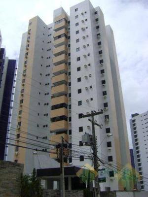 Apartamento Com 3 Dormitórios Para Alugar Por R$ 1.500/mês - Miramar - João Pessoa/pb - Cod Ap0878 - Ap0878