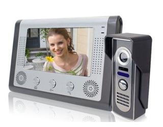 Portero Visor Color Lcd 7 Electrico Camara Monitor