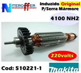 Induzido Original P/serra Mármore 4100 Nh2 220v Makita