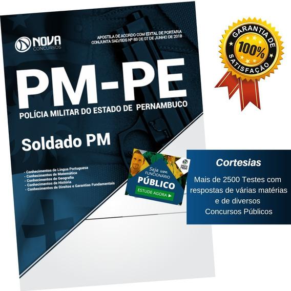Apostila Concurso Pm Pe - Soldado Polícia Militar Pernambuco