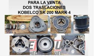 Dos Traslaciones Kobelco Sk 200 Mark 4