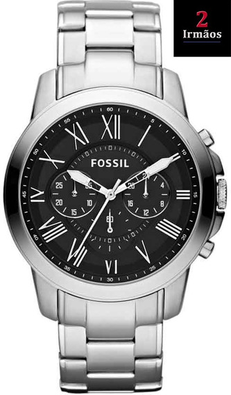 Relógio Fossil Executivo Prateado Ffs4736/z