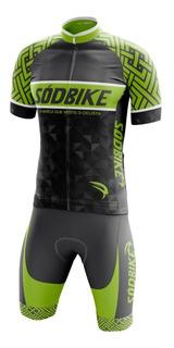 Conjunto Ciclismo Sódbike 002 Camisa E Bermuda