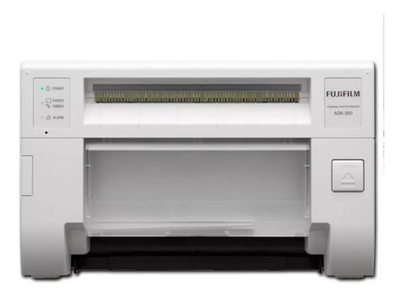Impressora De Fotos Térmica Fujifilm Ask300 Faz Tirinhas