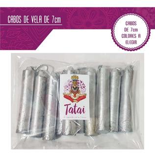 Tatai Tienda | Velas Mini O Cabos De Vela 7cm -varios Colors