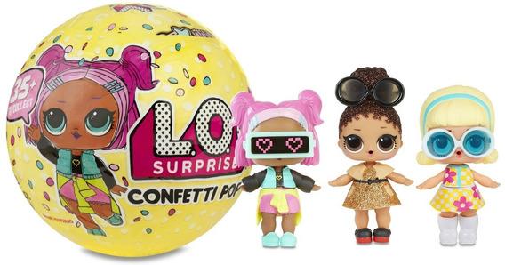 Boneca Lol Confetti Pop 9 Surpresas 8906 - Candide