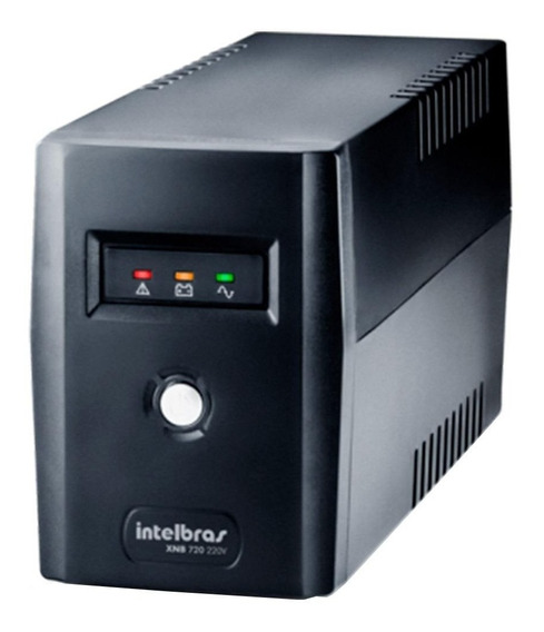 Nobreak Intelbras Xnb 720va 4 Tomadas Preto 220v