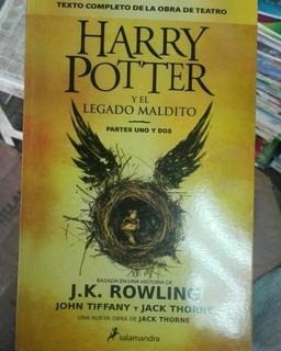 Harry Potter Y El Legado Maldito - J.k. Rowling (libro)