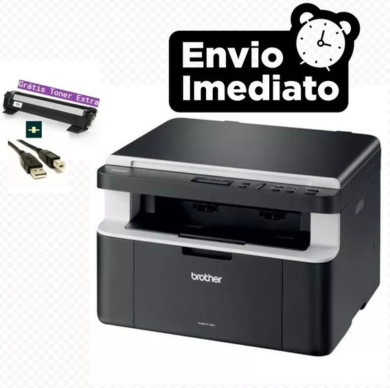 Multifuncional Brother Dcp-1602 + Toner Extra + Cabo Usb 12x