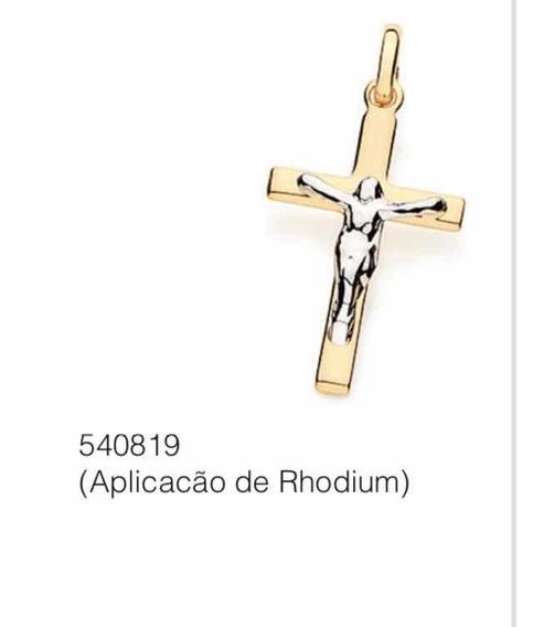 Pingente Crucifixo Com Ródio Rommanel