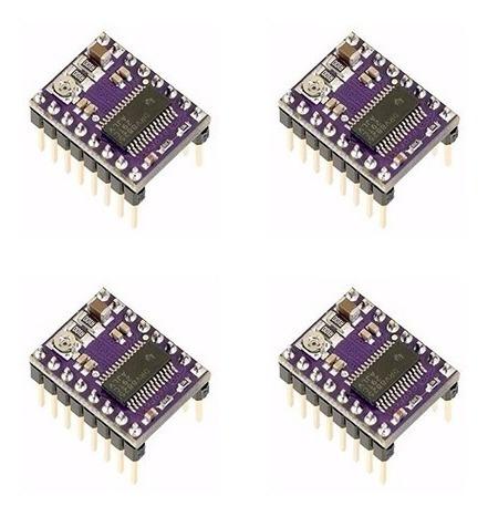 Kit Com 4x Driver Drv8825 Pololu Reprap Ramps Impressora 3d