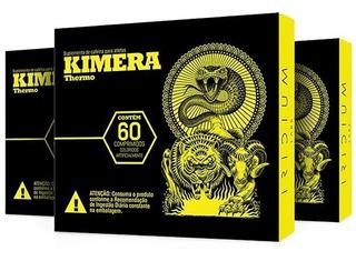 3x Kimera Thermo 60 Caps - Iridium Labs - Thermogenico