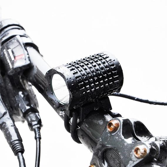 Lanterna De Led Para Bike 1200 Lumens Marca Inton Top