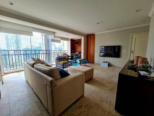 Apartamento Com 3 Dormitórios À Venda, 164 M² Por R$ 900.000,00 - Vila Andrade - São Paulo/sp - Ap9854