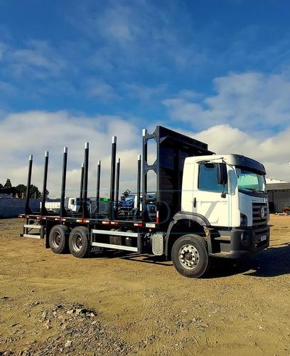 Caminhão Transtora Florestal Vw 32.360 6x4 Reduzida