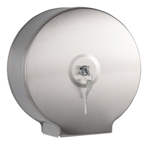 Dispensador Circular Papel Higienico Acero Essenza