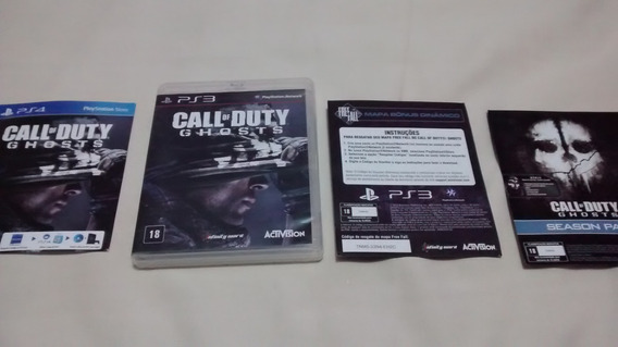 Call Of Duty Ghosts Dublado Ps3 Midia Fisica Original