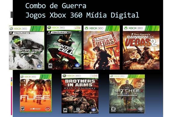 Combo De Gerra Xbox 360 Mídia Digital
