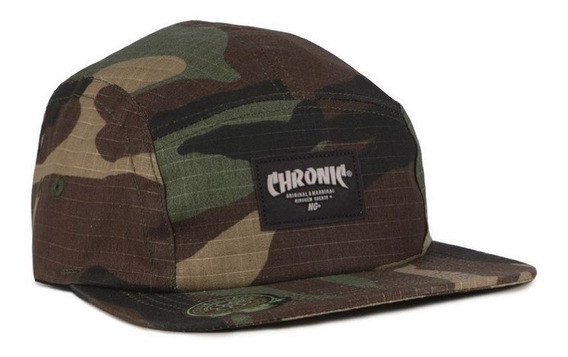 Boné - 5 Five Panel -chronic - Strapback - Original - 19/336
