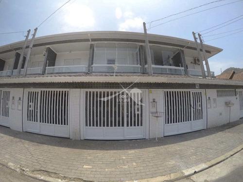 Imagem 1 de 30 de Sobrado Em Praia Grande, Canto Forte - V5198