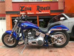 Harley Davidson Fat Boy 1340 Modelo 1989 Remate De Dian