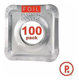 Cubiertas Para Quemador De Estufa Cuadradas De Aluminio Fo