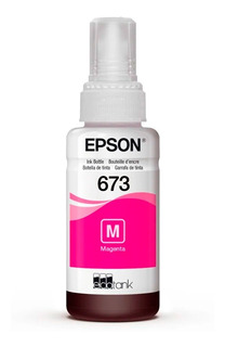 Tintas Originales Epson T673 Botella 70ml P-l800 Pc
