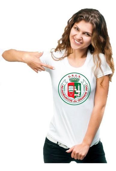 Blusa Feminina Grande Rio Escola De Samba Camiseta Carnaval